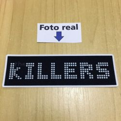 The Killers - letreiro 10 x 3cm