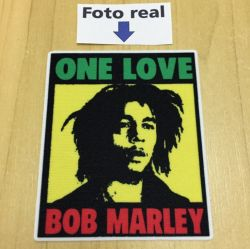 Bob Marley One Love - 8 X 6,6cm