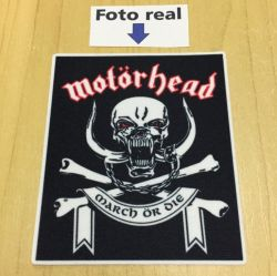 Motorhead March or Die - 8,5 x 7,3cm